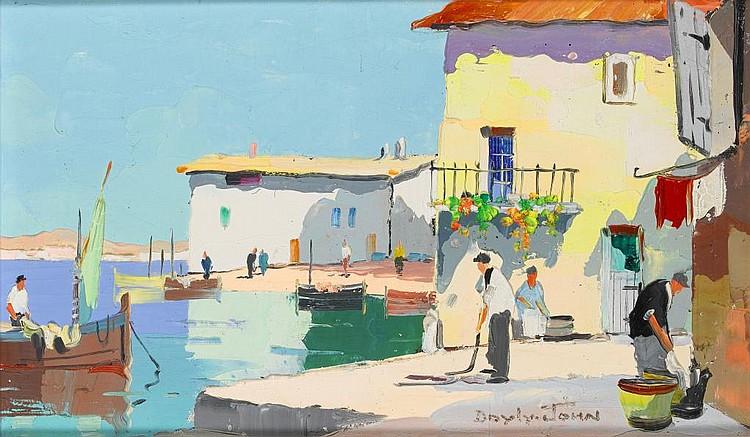 CECIL ROCHFORT D'OYLY-JOHN (1906-1993) CAP FERAT