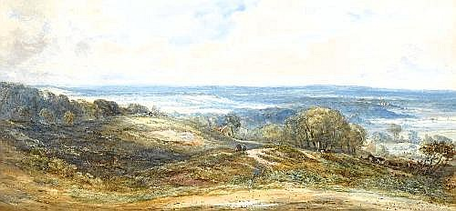 Thomas Collier (1840-1891) the cheshire plain FROM