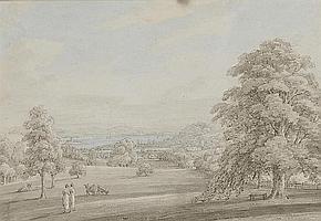 THOMAS SUNDERLAND (1744-1828) VIEW FROM NEAR