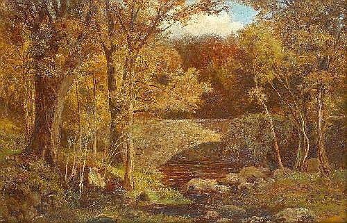 Alfred Feyen Perrin (1838-1918) THE LOWER BRIDGE