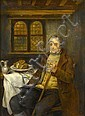 HENDRICK JOSEPH DILLENS (1812-1872) A SOLITARY