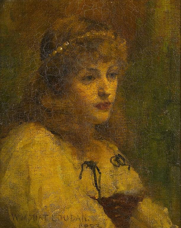 William Mouat Loudan (1868-1925) THE HEAD OF A