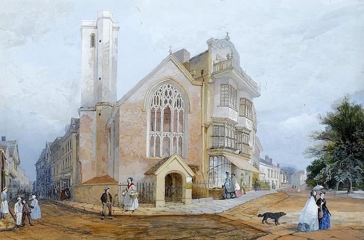 JOHN GENDALL (1789-1865) ST MARTIN'S CHURCH AND