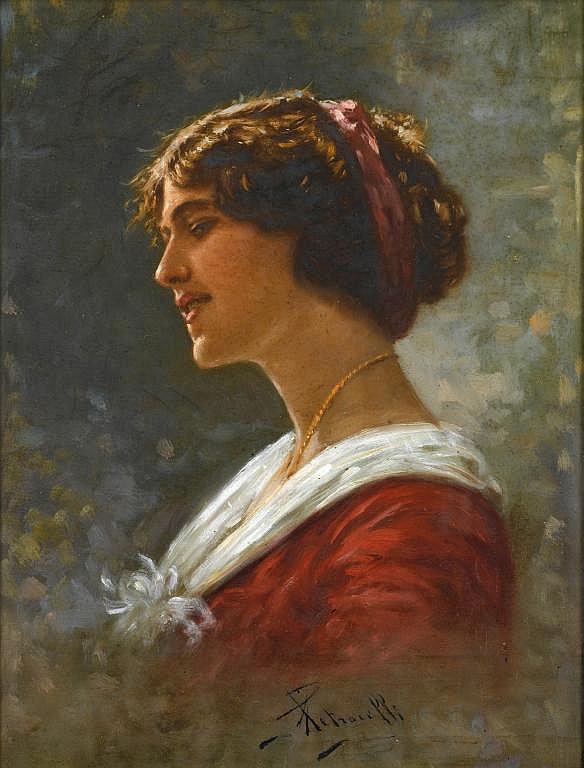 ACHILLE PETROCELLI (1861-1929) A NEAPOLITAN