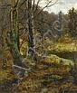 EDGAR LONGSTAFFE (1849-1912) AUTUMN LEAVES signed, Edgar Longstaffe, Click for value