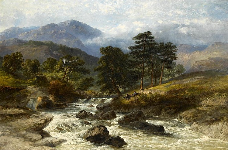 James Poole (1804-1886) GLEN LYON FORTINGALL