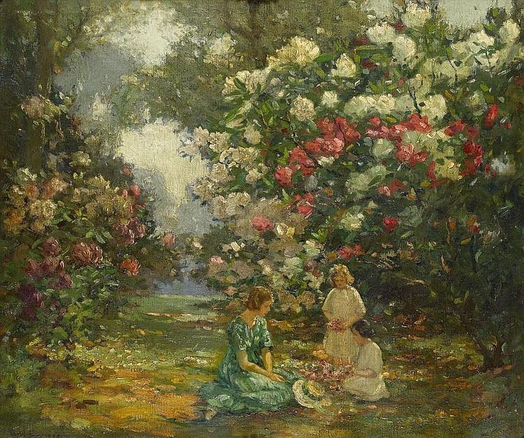 AUGUSTUS WILLIAM ENNESS, RBA (1876-1948) SUMMER IN