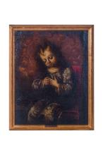 Niño Dormido in Oil on Canvas
