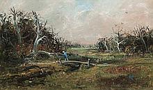 ARTHUR BOYD (1920-1999) Berwick Landscape 1959 oil