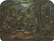 EUGENE VON GUÉRARD (1811-1901) Ferntree Gulley