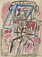 TONY TUCKSON (1921-1973) (Untitled) watercolour on