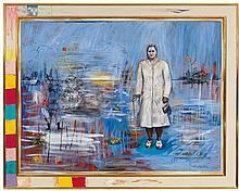JUAN DAVILA born 1946 Portrait of Enriqueta