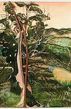 BRETT WHITELEY (1939-1992) Kurrajong 1981 oil,