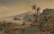 EUGENE VON GUÉRARD (1811-1901) Strada di Messina a