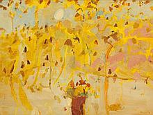 JOHN OLSEN born 1928 Untitled 1969 oil on board