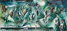 WILLIAM DOBELL (1899-1970) Trapping the Flying
