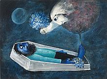 ARTHUR BOYD (1920-1999) Death of a Husband 1958