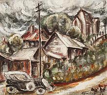 DANILA VASSILIEFF (1897-1958) Sydney Street 1936-7