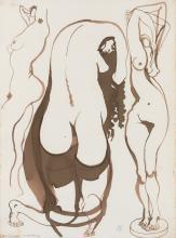BRETT WHITELEY (1939-1992), Study for Sculpture, c1980