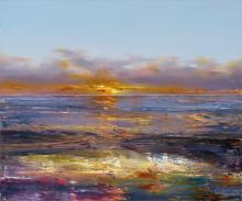 GEOFF DYER (1947-2020), Ocean Beach in the Eye of Turner