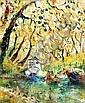 CELIA PERCEVAL, (born 1949), Untitled (Boats under, Celia Perceval, Click for value