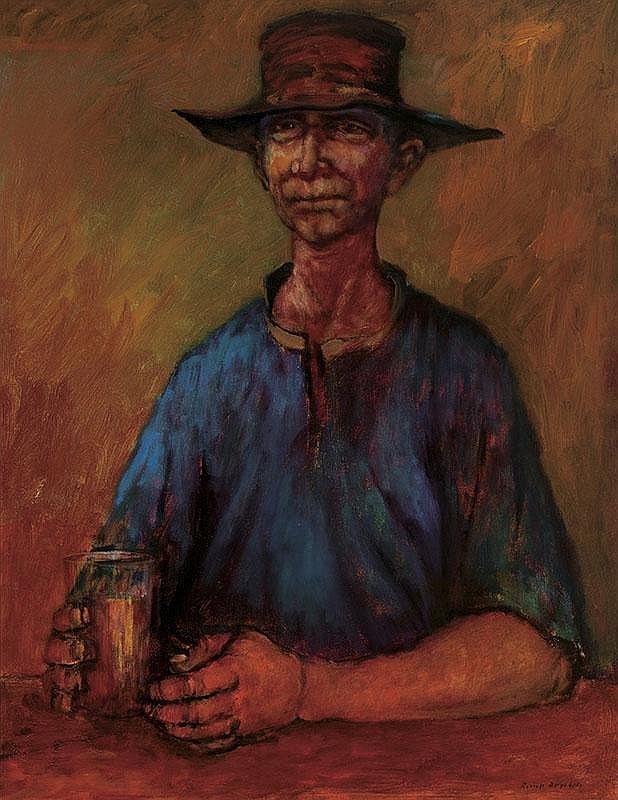 RUSSELL DRYSDALE (1912-1981)  Warrego Jim