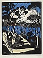 MARGARET PRESTON (1875-1963)  Harbour Foreshore, Margaret Preston, Click for value