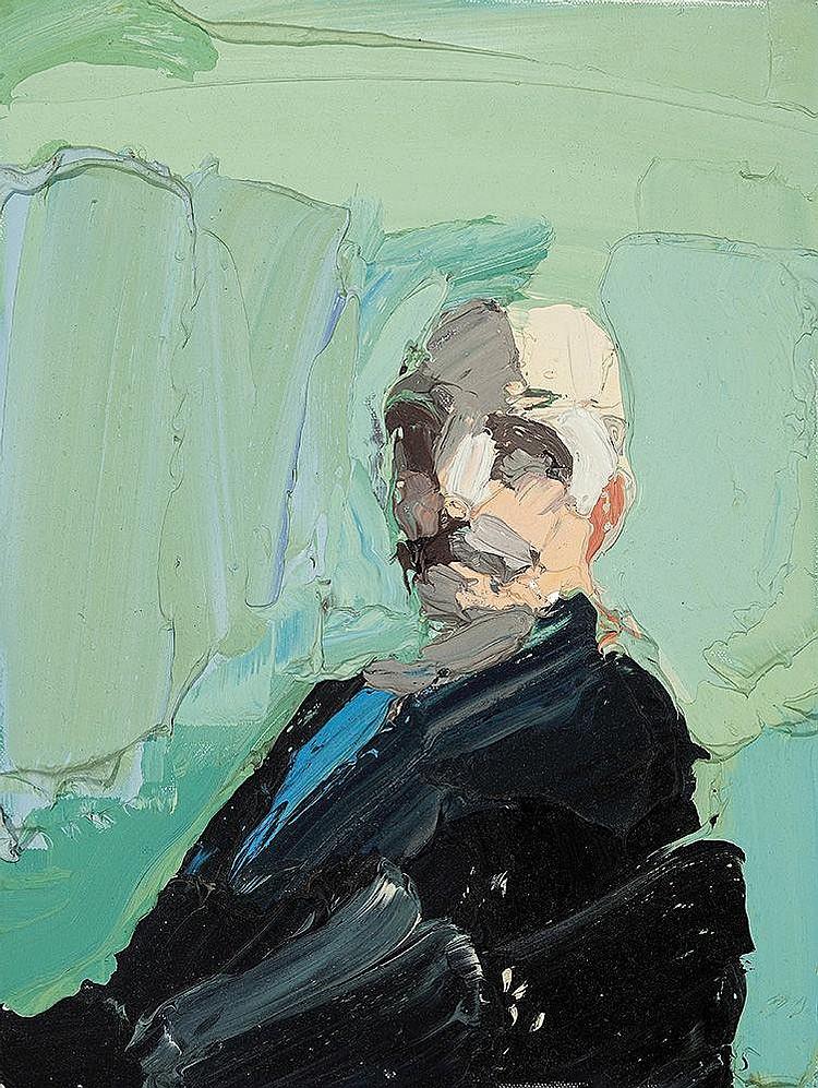 BEN QUILTY born 1973 Portrait after Self Portrait by Arthur Streeton
