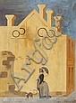 ERIC THAKE (1904-1982) Seurat in Carlton, Eric Thake, Click for value