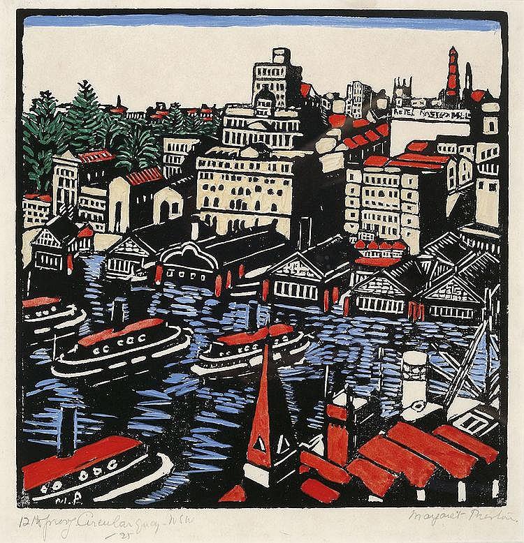 MARGARET PRESTON (1875-1963) Circular Quay