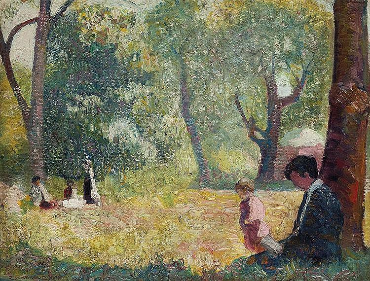 ROLAND WAKELIN (1887-1971) Balmoral