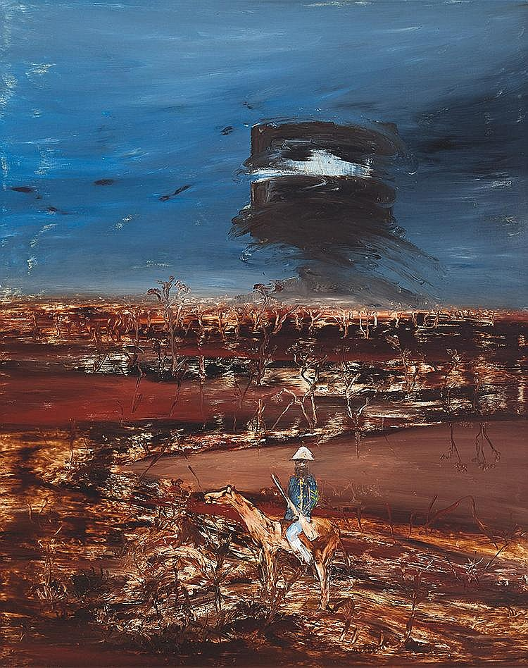 SIDNEY NOLAN (1917-1992) Ned Kelly and Mounted Trooper