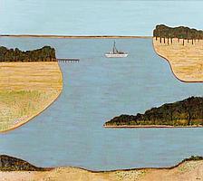 JILL NOBLE, born 1962, Gippsland Boat, 2003,
