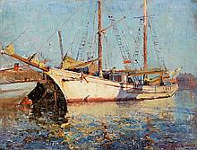 W.D. KNOX (1880-1945)  In Little Dock