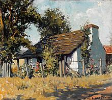 DORA WILSON (1883-1946)  The Shingled Shack
