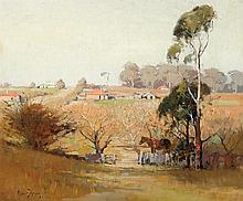 ROBERT JOHNSON (1890-1964)  Eastwood Farmscape 1930
