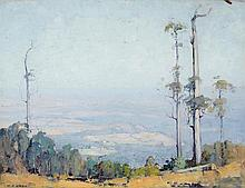 W.D. KNOX (1880-1945)  Towards Silvan
