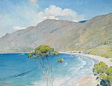 TOM ROBERTS (1856-1931)  Eaglehawk Neck 1925