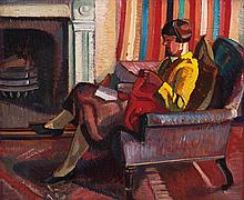 ROY DE MAISTRE (1894-1968)  At Burdekin House Studio c1929
