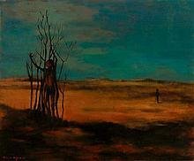 RUSSELL DRYSDALE (1912-1981)  Desert Children 1958