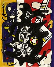 FERNAND LÉGER (1881-1955, French)  China Town 1943
