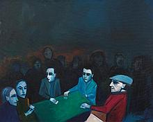 ROBERT DICKERSON (1924-2015)  The Card Players 2011
