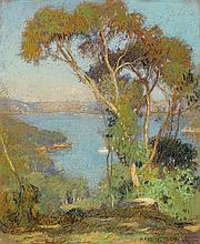 HANS HEYSEN (1877-1968)  Part of Sydney Harbour 1908