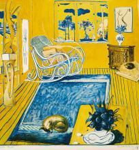 BRETT WHITELEY (1939-1992), The Cat 1980