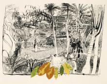 BRETT WHITELEY (1939-1992), The Garden in Sanur, Bali 1980