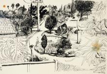 BRETT WHITELEY (1939-1992), Lindfield Gardens 1978