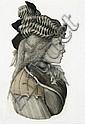 LOUDON SAINTHILL (1919-1969)  Head in Profile, Loudon Sainthill, Click for value
