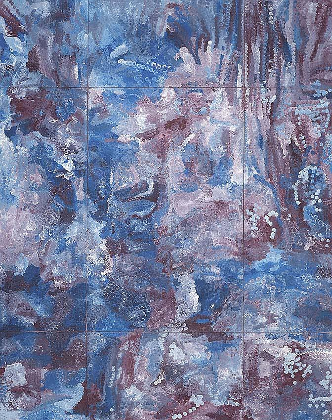 EMILY KAME KNGWARREYE (c1910-1996) Ammatyerre language group Earth's Creation II