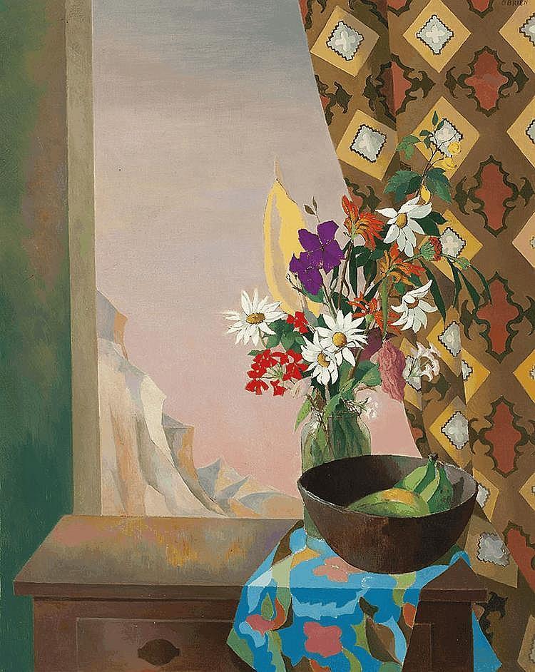 JUSTIN O'BRIEN (1917-1996) (The Window)