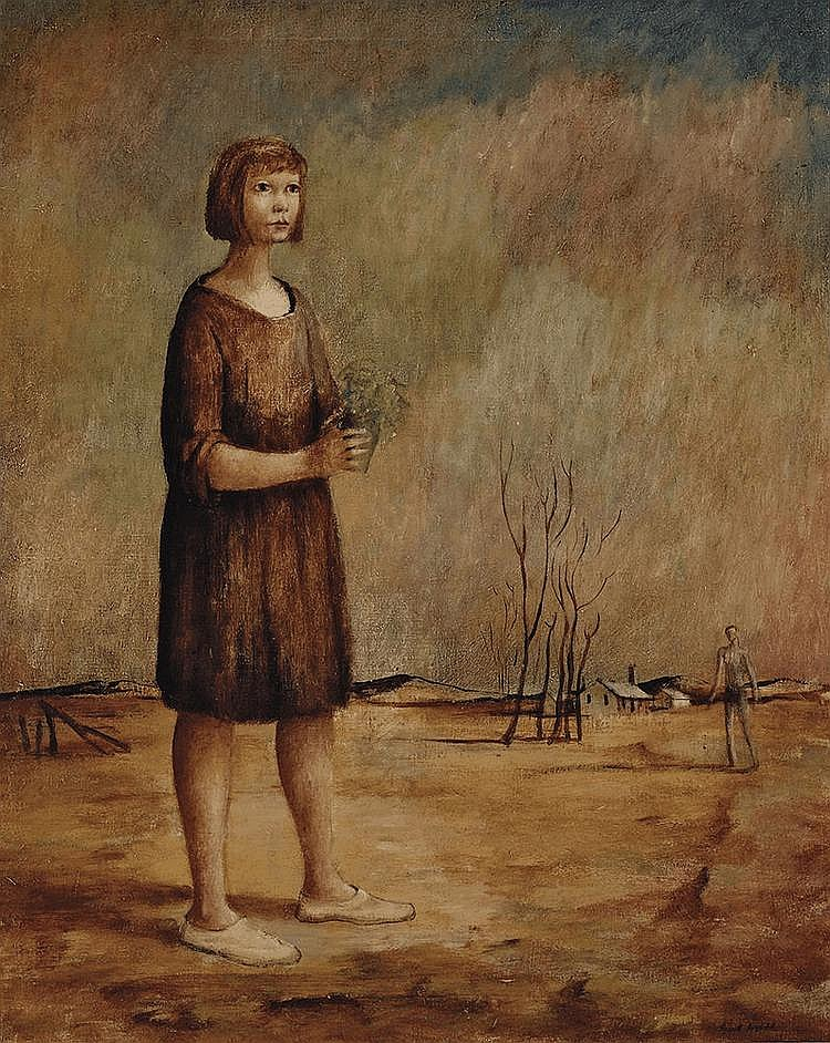 RUSSELL DRYSDALE (1912-1981) Country Child